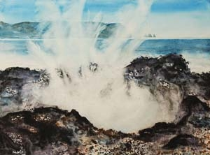 """Blow Hole"" (22x30)"