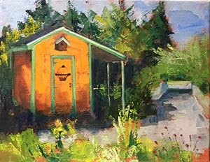 """Elm Bank Shed"" (11x14)"