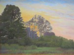 "Honorable Mention: Michelle Lavalle. ""Nature's Hour"" Oil"