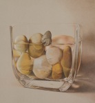 "WSA Honorable Mention: Deborah Friedman:Colored pencil ""Profiles in courage"""