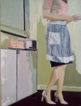 "Honorable Mention: Leslie Graff ""A Piece of Cake"" Acrylic"