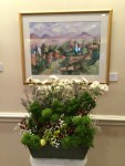 "Artist: Randa Khuri ""A view from Alhambra"", Watercolor; Floral by Anne Manners"