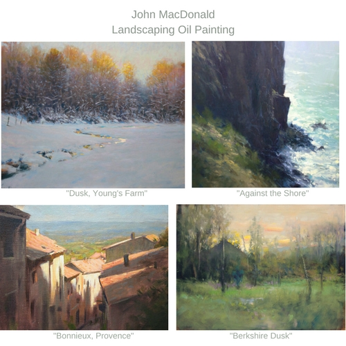 Oil paintings by John MacDonald